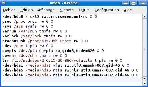 Cours de TSSRI sur Linux FichierConfiguration
