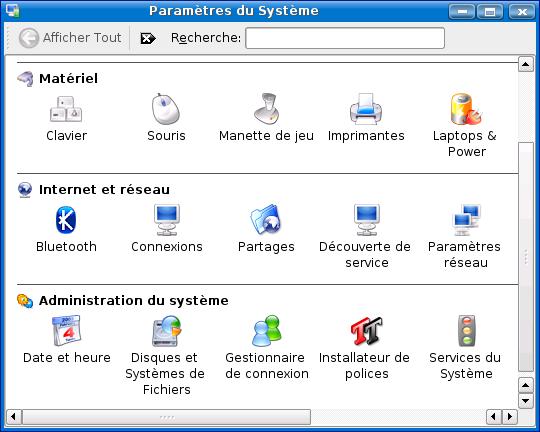Cours de TSSRI sur Linux ParametresSysteme