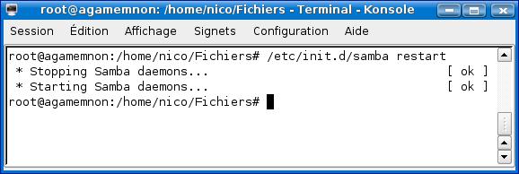 Cours de TSSRI sur Linux Terminal