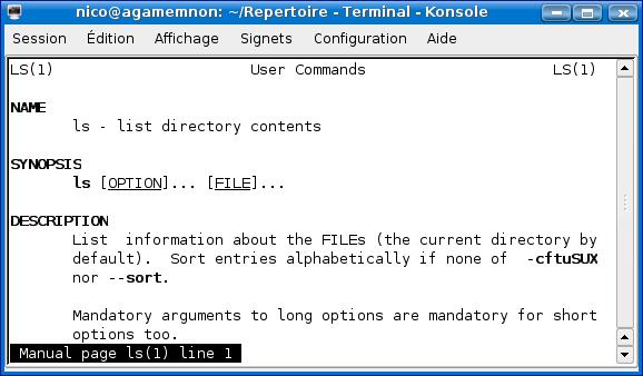 Cours de TSSRI sur Linux Man