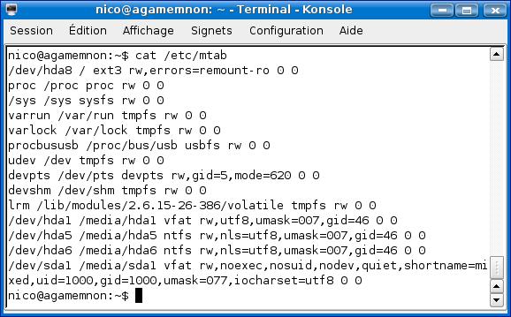 Cours de TSSRI sur Linux Cat