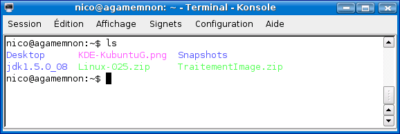 Cours de TSSRI sur Linux Ls