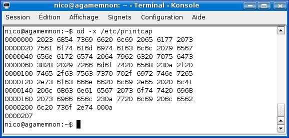 Cours de TSSRI sur Linux Od