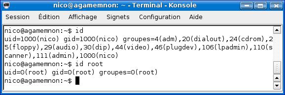 Cours de TSSRI sur Linux Id