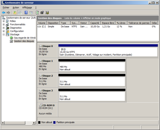 Windows 2008 Administration Gestion Des Disques
