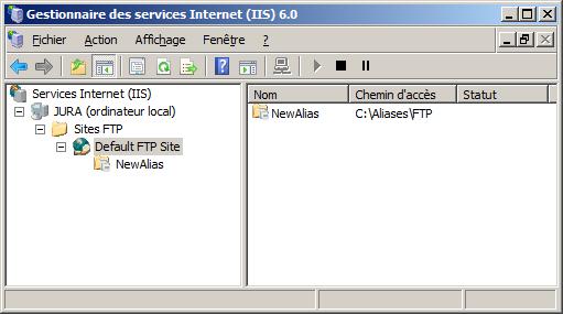 accès ftp internet explorer